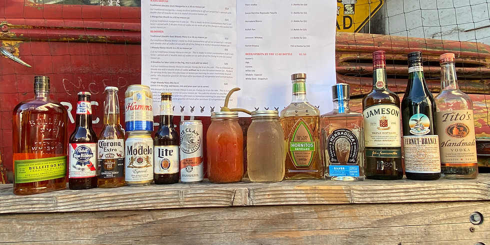 Bloody Sunday: Bloodies, Margaritas, Booze by the bottle