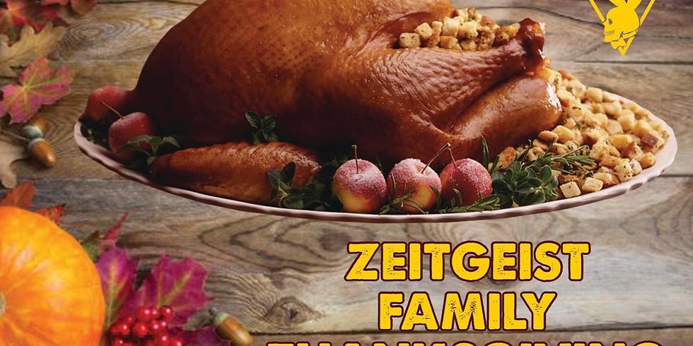 Zeitgeist Family Thanksgiving