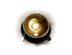 Hand-poured Latte Art
