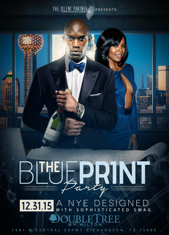The Blue Print NYE 12.31.15 Double Tree by Hilton