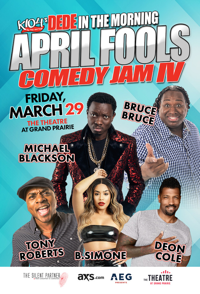 DeDe in the Morning April Fools Comedy Jam IV starring Michael Blackson x more!