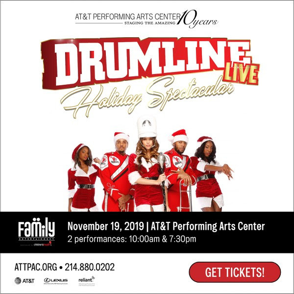 Drumline Live Holiday Spectacular at Winspear Opera House at ATT  PAC