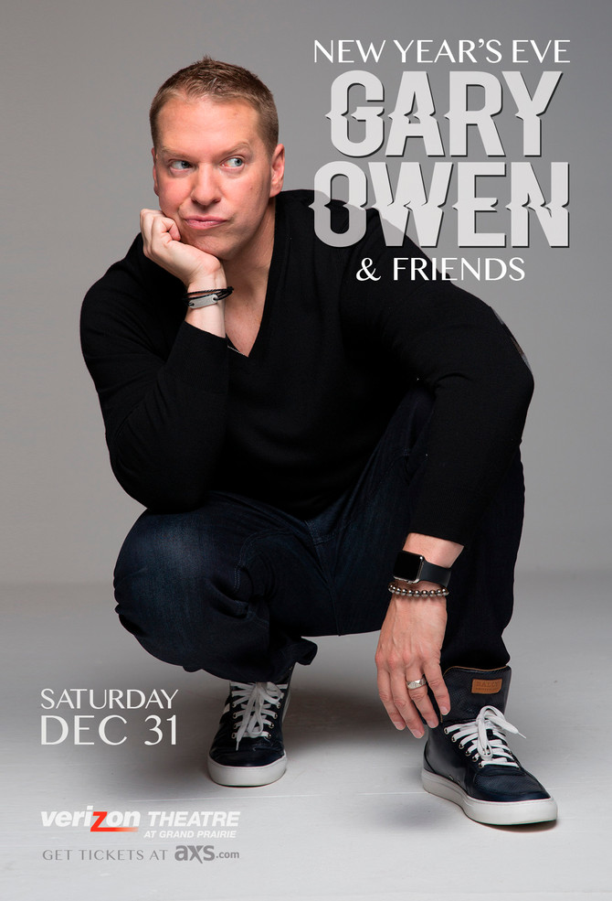 New Year's Eve Gary Owen & Friends On Sale Now!