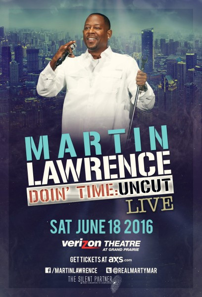 Martin Lawrence Live in Dallas, TX Saturday, June 18, 2016