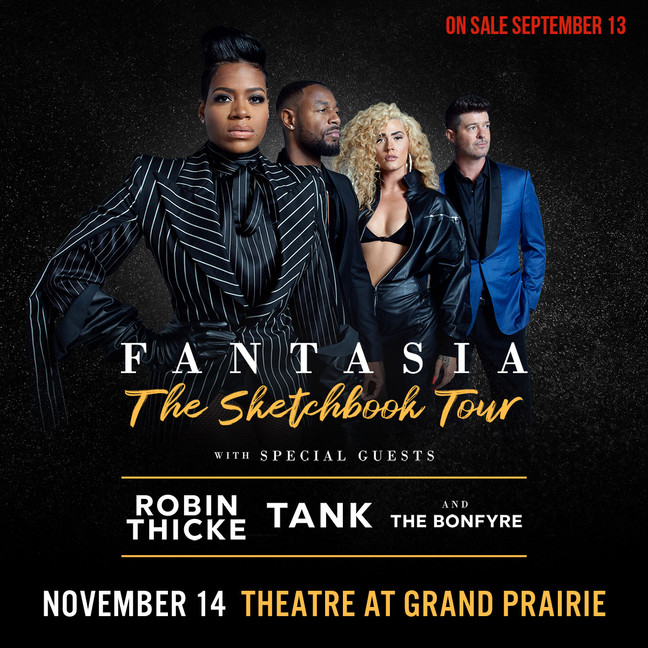 Fantasia Coming to Dallas Tickets On-Sale 9/13