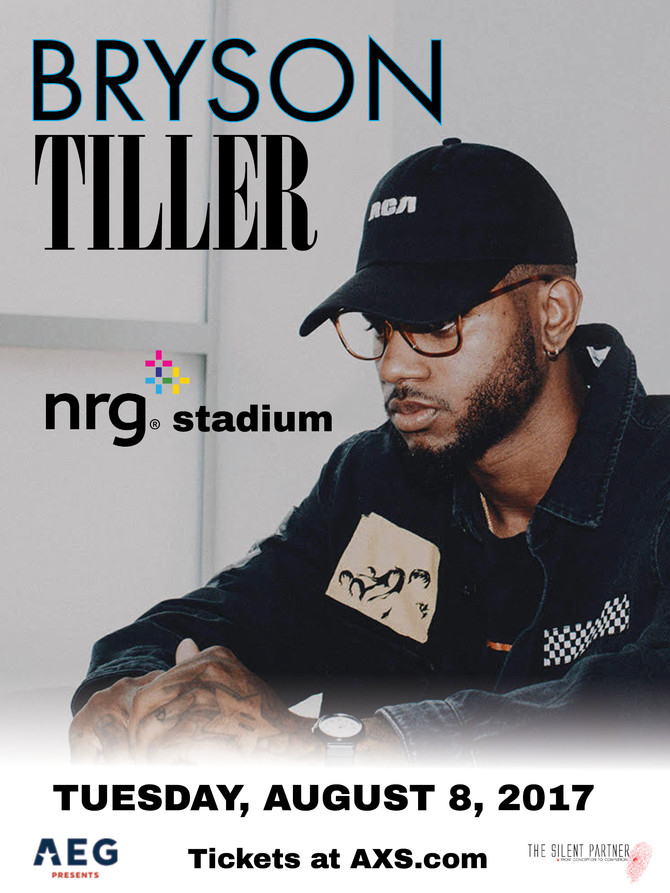 Bryson Tiller at NRG Arena with H.E.R & Metro Boomin Tues. Aug. 8