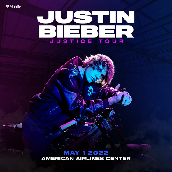 Justin Bieber The Justice Tour at American Airlines in Dallas | May 1, 2022