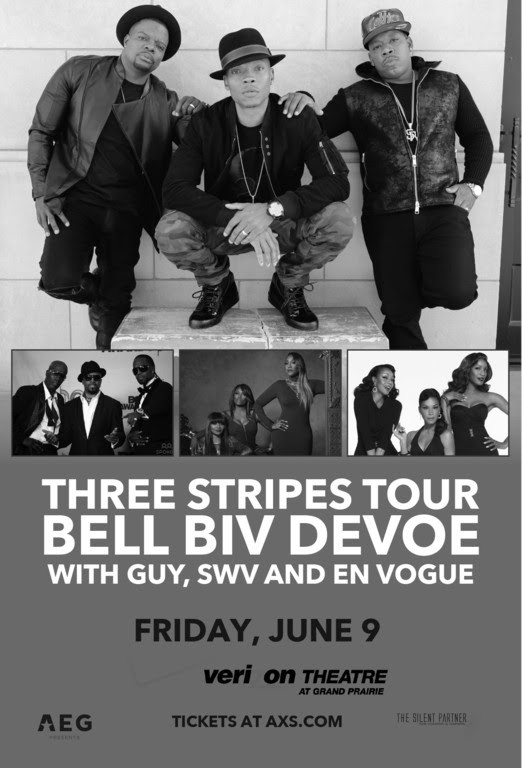 Get ready! Three Stripes Tour is coming to Verizon Theater. Get tickets now to see Bell Biv Devoe wi