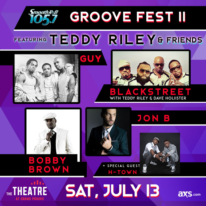 This is Going to Lit 🔥🔥 Groove Fest II with Teddy Riley & Friends