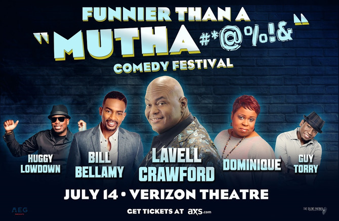 Get Your Tickets to the Funnier Than a Mutha#*@%!& Comedy Festival