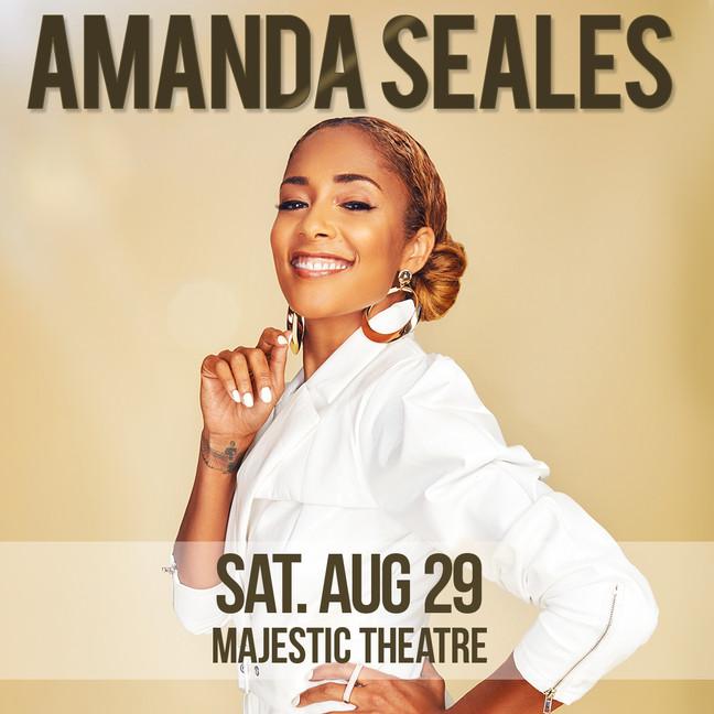 Amanda Seals is Coming Back to Dallas Y'all!