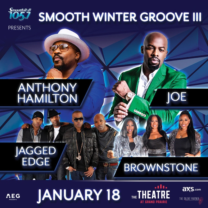 Smooth Winter Groove III Exclusive On-Line pre-sale Passcode : Groove Thursday @ 10am - 10 pm