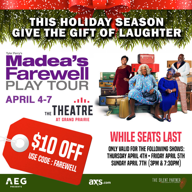 Give the Gift of Laughter this Holiday Season $10 Off Code: Farewell