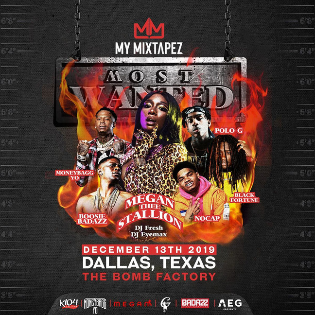 MY MIXTAPEZ Most Wanted Fest Live at The Bomb Factory!