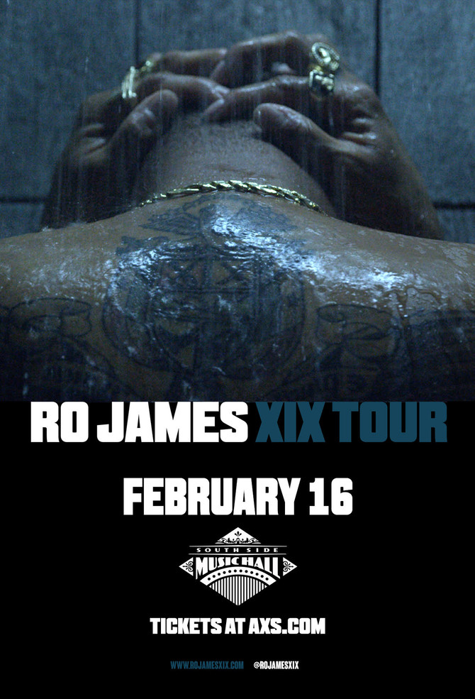 Ro James XIX Tour Tickets on Sale 12/16