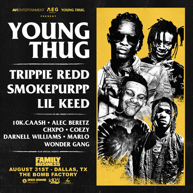 Get Your Tickets to the Family Business Festival starring Young Thug, Trippie Redd + more!