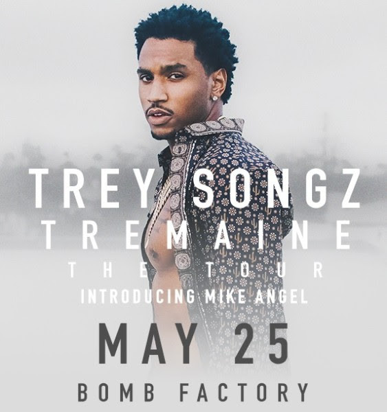 """Trey Songz """"Tremaine The Tour"""" introducing Mike Angel Thur, May 25, 2017"""