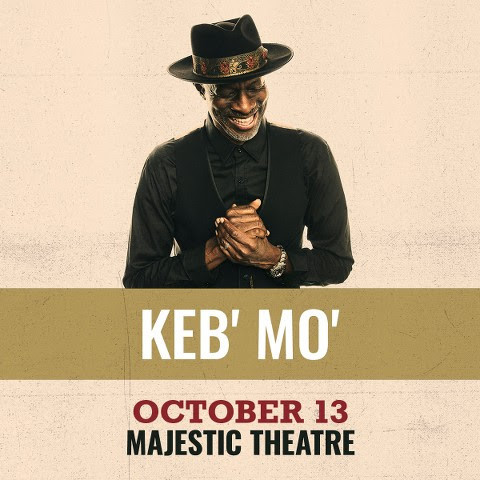 KEB'MO Live October 13th, 2021 at Majestic Theatre, Dallas