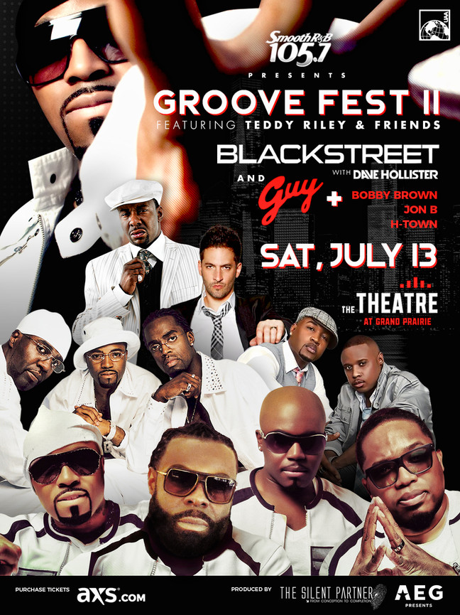 Teddy Riley & Friends On Sale Now - Groove Fest II.