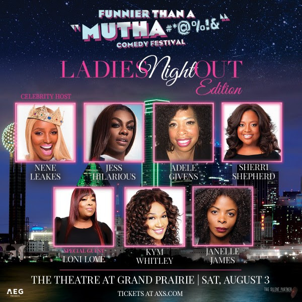 Just Announced: Funnier Than a Mutha Comedy Festival Ladies Night Out Edition