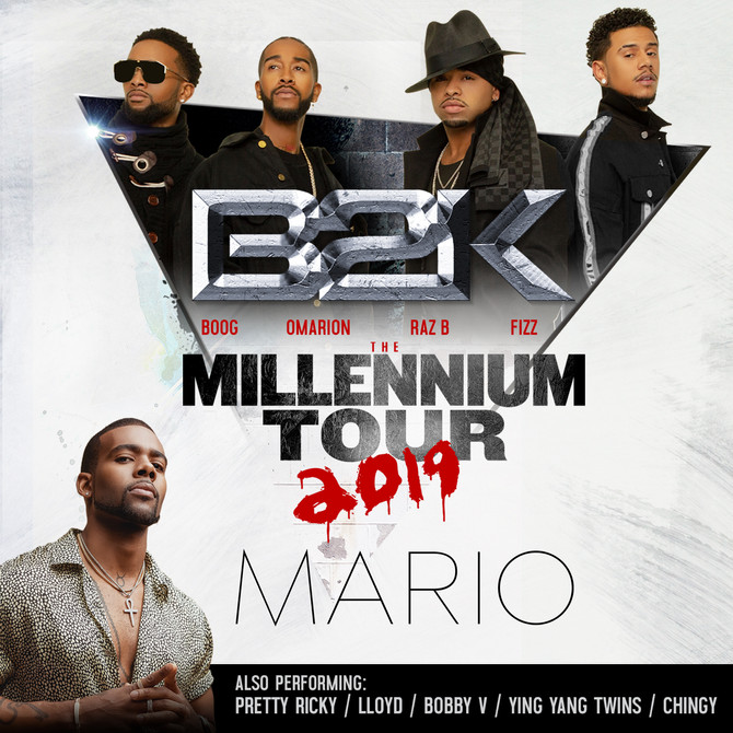 The Millennium Tour starring B2K x Omarion, Mario + more!