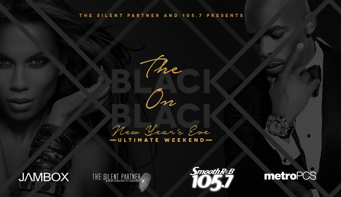 Tickets On-Sale for the The Silent Partner & 105.7 Black on Black NYE Weekend Starring Joe Thoma