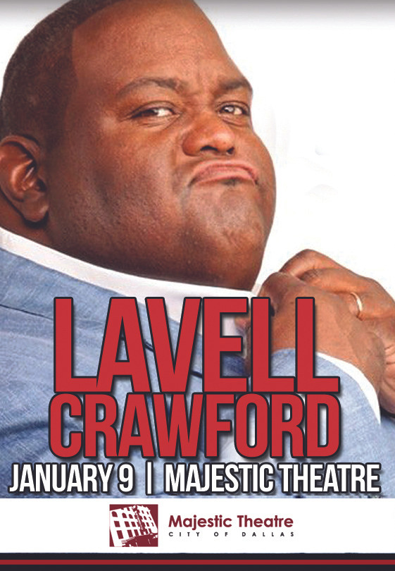 Lavell Crawford | January 9th | Majestic Theatre