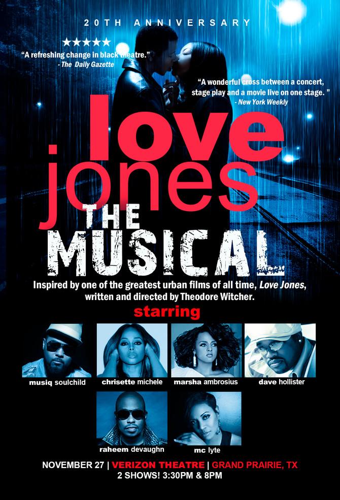 Love Jones the Musical on Sale Friday!