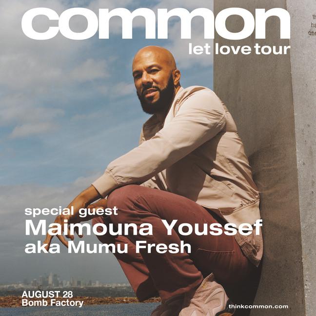 """Common """"Let Love"""" Tour"""