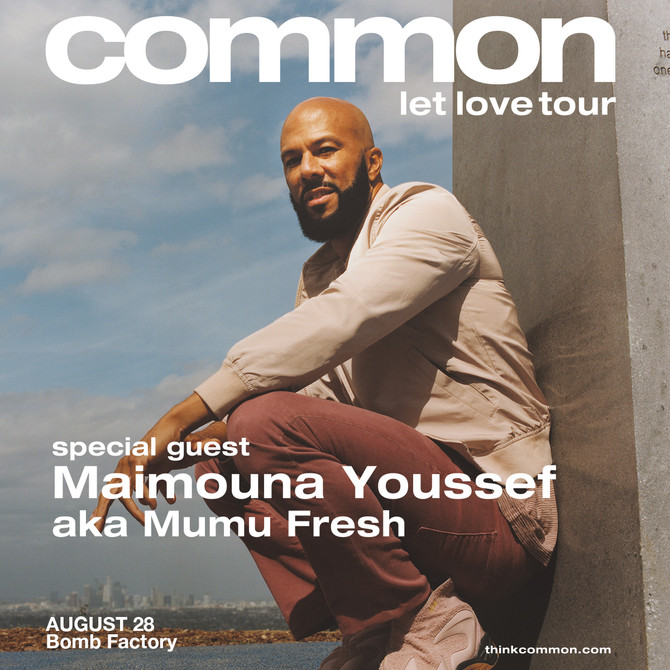 "Common ""Let Love"" Tour"
