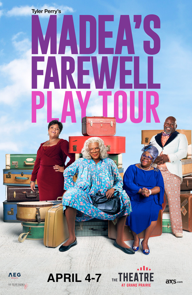 Tyler Perry announces Madea's Farewell Play coming to The Theatre at Grand Prairie