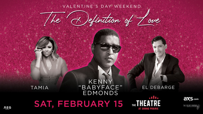"""VALENTINES DAY WEEKEND WITH KENNY """"BABYFACE"""" EDMONDS,"""