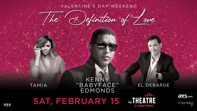 "VALENTINES DAY WEEKEND WITH KENNY ""BABYFACE"" EDMONDS,"