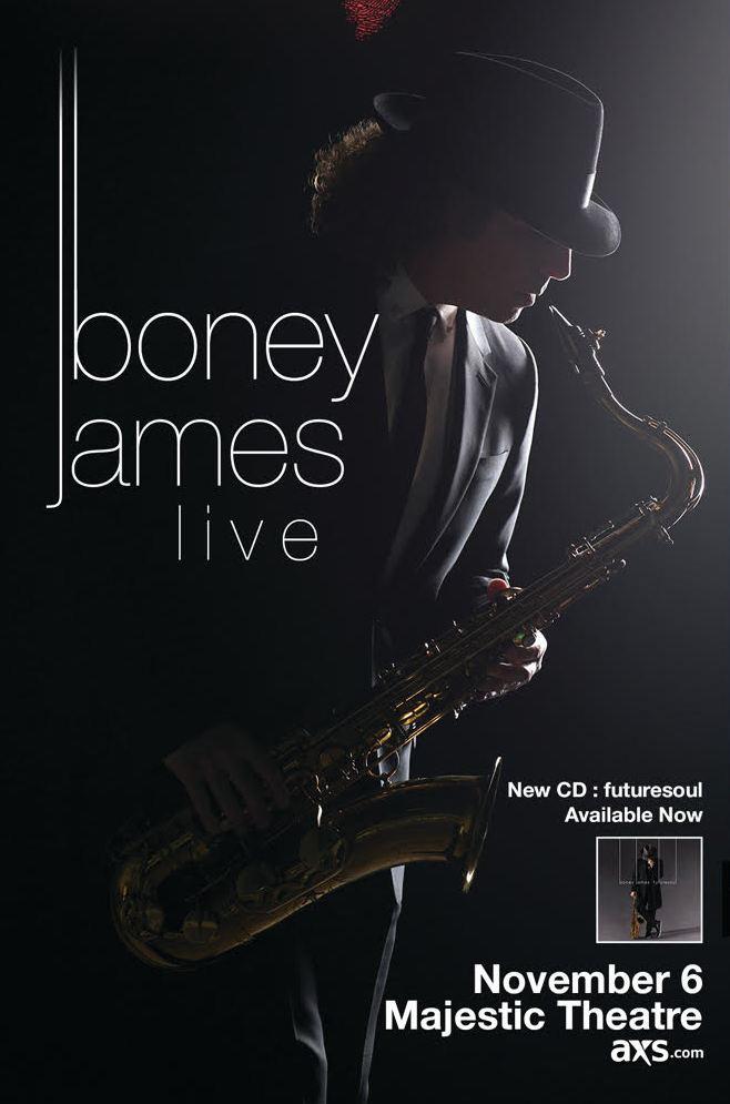Boney James Live at Majestic Theatre