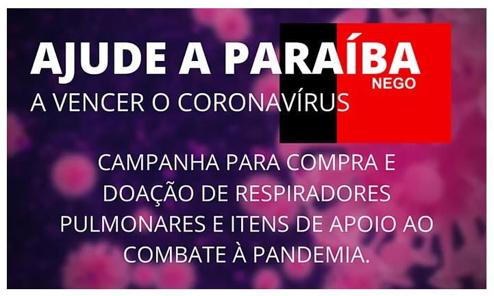 Ajude a Paraíba a vencer o Coronavírus