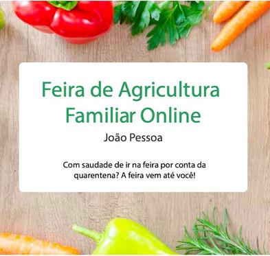 Feira de agricultura familiar online