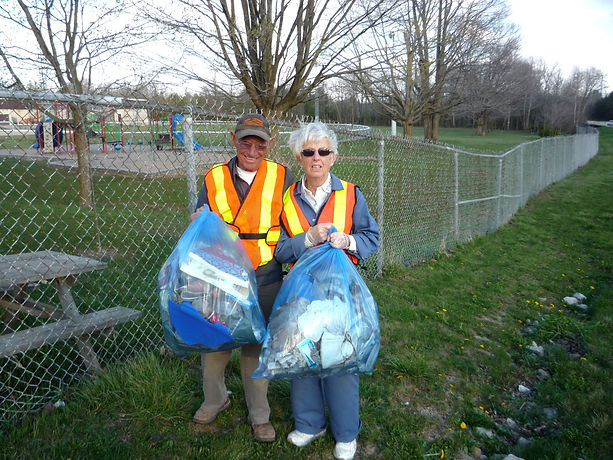 Be Part of the Solution and Not the Pollution - Elora Lions Club, Road Side Clean Up, Elora Lions County Road 7, April, after the snow melts. Put litter in its place. Elora Lions Club.
