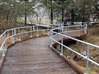 Bissell Park Boardwalk - built by Elora Lions!