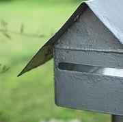 Caixa de correio de prata