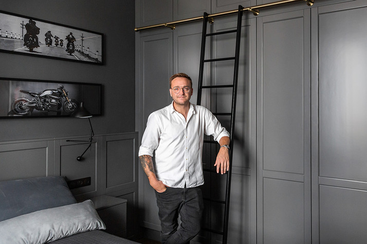 Mateusz Gessler's bedroom