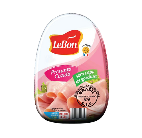 Presunto sem gordura Lebon