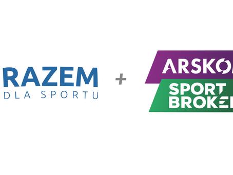 Arskom Sport Brokers z obsługą komunikacyjną platformy Razem Dla Sportu