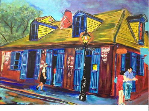 Lafitte's Blacksmith Shop #3