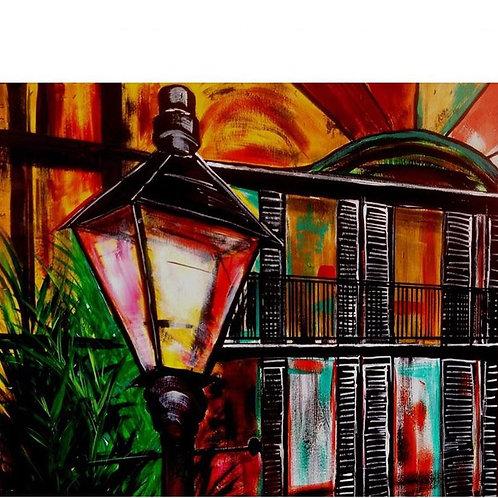 Lamp Vieux Carre