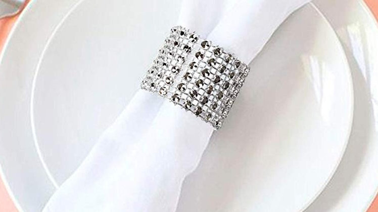 Polyester Napkins with Rings