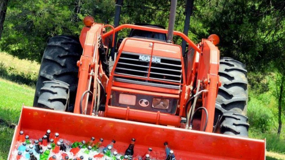 Tractor Beverage Cooler