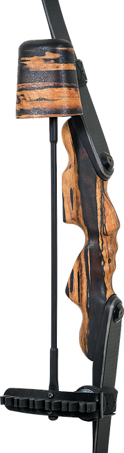 Zipper custom thunderhorn bow quiver made from exotic woods