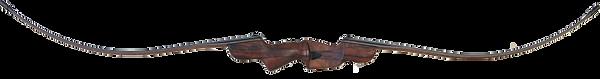 Zipper unstrung Nitro long bow profile