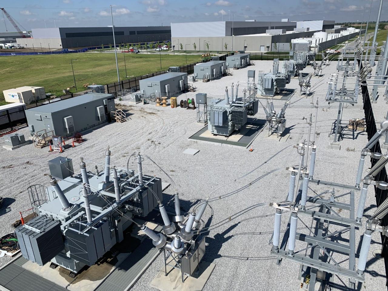 Confidential Client High Voltage Substation