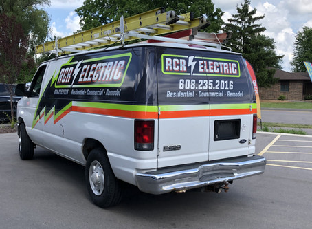 RCR Electric: Branding and Vehicle Wrap Design